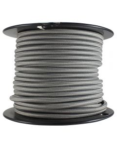Rayon Covered SVT/2 Wire - 100 FT Spool - Dark Gray