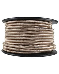 Rayon Covered SVT/3 Wire - 100 FT Spool - Champagne