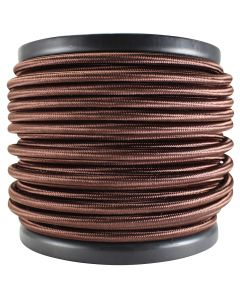 Rayon Covered SVT/3 Wire - 100 FT Spool - Bronze