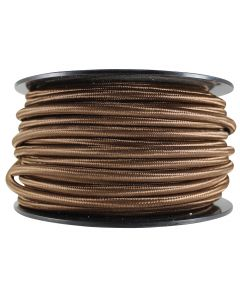 Rayon Covered SVT/3 Wire - 100 FT Spool - Brown