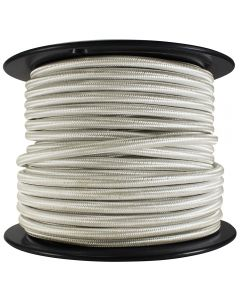 Rayon Covered SVT/3 Wire - 100 FT Spool - Cream