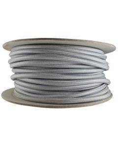 Rayon Covered SVT/3 Wire - 100 FT Spool - Satin Nickel