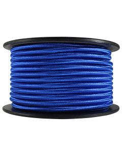 Rayon Covered SVT/3 Wire - 100 FT Spool - Blue