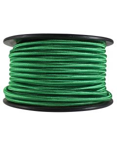 Rayon Covered SVT/3 Wire - 100 FT Spool - Green