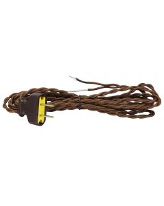 Twisted-Wire Rayon Covered Cord Sets - Brown Brown E-Z Grip