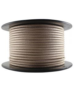 Antique Style Rayon Covered Wire - 250 FT Spool - Champagne