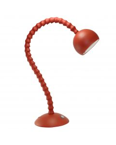 Free Form - Flex Arm Led Table Lamp - Evening Red