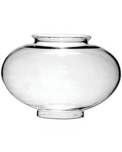 "11"" Large Onion Globe - Clear"