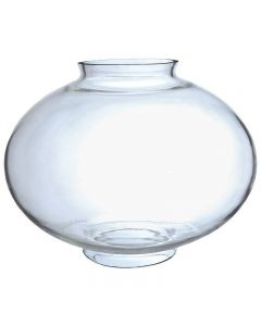"9-1/4"" Medium Onion Globe - Clear"