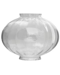 "7"" Small Onion Globe - Clear Optic Melon"