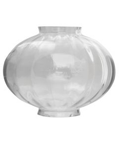 "9-1/4"" Medium Onion Globe - Clear Optic Melon"
