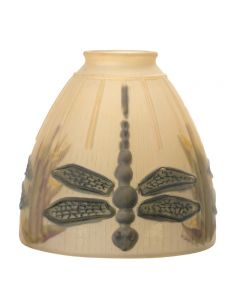 """5-1/4"""" Champagne Dragonfly - Painted 2-1/4"""" Fitter"""