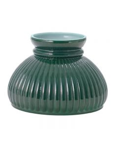"6"" Student Shade - Green Ribbed"
