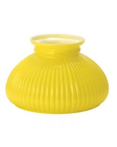 "7"" Student Shade - Yellow Rib"