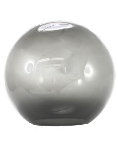 "10"" Smoke Acrylic Ball Neckless 5-1/4"" Opening"