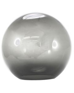 "12"" Smoke Acrylic Ball Neckless 5-1/4"" Opening"