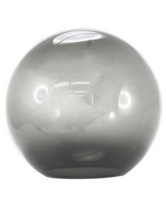 "14"" Smoke Acrylic Ball Neckless 5-1/4"" Opening"